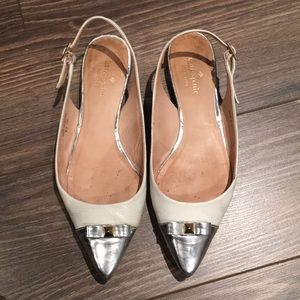 Kate Spade Leather Flats size 7M